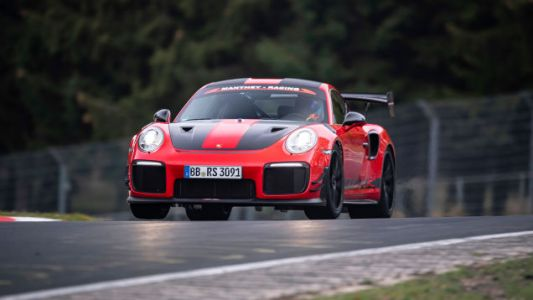 Porsche Sets New Nürburgring Record With Road Legal But Not-At-All-Stock911 GT2 RS MR