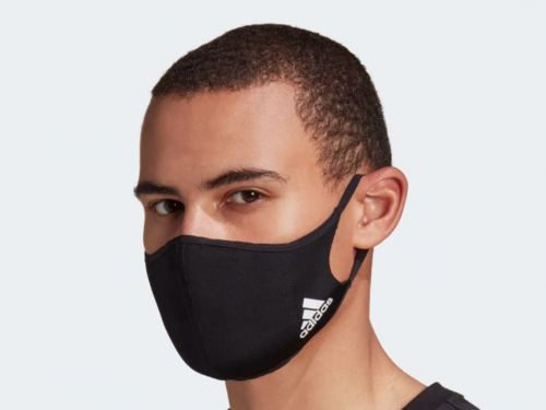 The Adidas face mask that sold out after one day resold on eBay for $90 - over 5 times the original price at retail