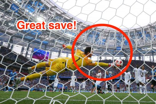 Hugo Lloris pulled off 1 of the best saves of the 2018 World Cup - but Twitter was more captivated by a horrible-looking bug that tried to fly into his mouth