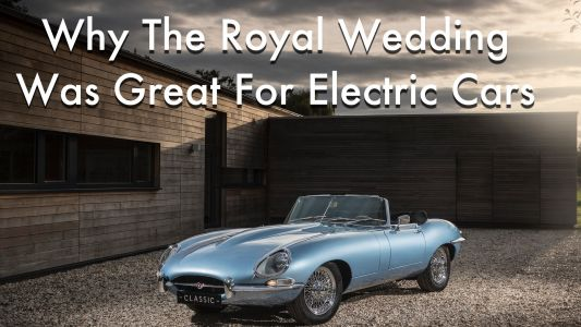 Why The Royal Wedding Was Great News For Jaguar