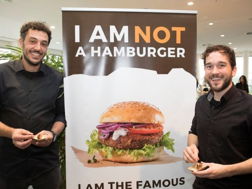 Two German entrepreneurs tell us how they get people to eat their insect burgers