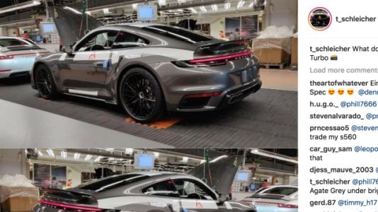 This Could Be the New Porsche 911 Turbo Way Before You're Supposed To See It