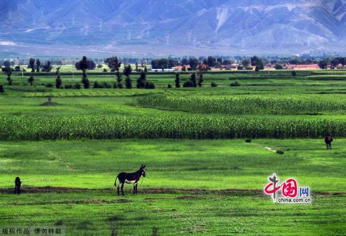 Picturesque view of Shanxi