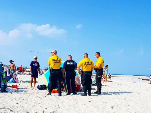 A woman was impaled by beach umbrella in freak accident on the Jersey shore