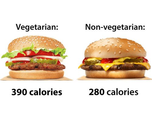 9 vegetarian fast food items that have more calories than the meat options