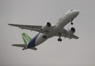 China outlines push to develop domestic engine for C919 jet in five-year plan