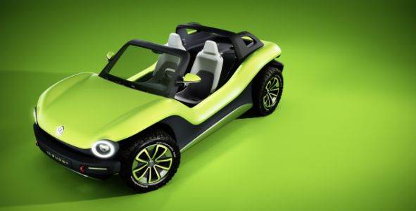 Here's Volkswagen's All-Electric Dune Buggy and It's More Like an Old-School Buggy Than You'd Think