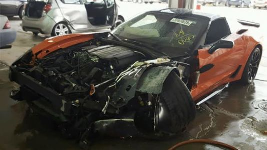 This 2019 Chevy Corvette Lived a Tragic 15 Miles