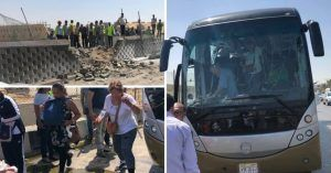 Roadside Giza bomb blast near Grand Egyptian Museum injured 17 tourists