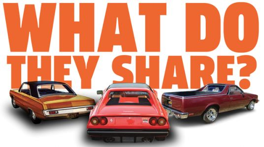Let's Talk About The Design Element Shared By El Caminos, Dodge Darts, And The Ferrari 308GTS
