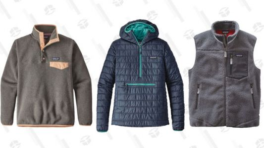 Patagonia Is Taking Up to 50% Off a Ton of Winter Essentials
