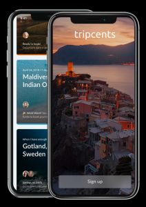 Tripcents app has launches its iOS version