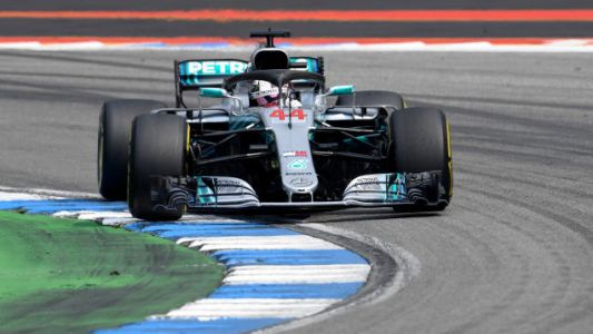 Mercedes Put Up Dominant German GP 1-2 Victory As Ferrari Falters