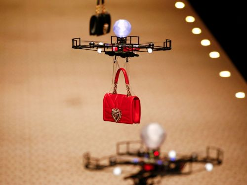 A Saudi Arabian fashion show used drones instead of female models - but it's not for the reason you think