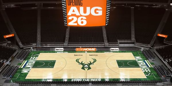 Check out the Milwaukee Bucks' chic, new $524 million arena