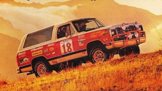 In 1981 Dodge entered a pair of Ramchargers in the Safari Rally