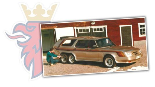 You Should Know About The Biggest Saab Ever, It Had Six Wheels