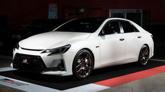 The Toyota Mark X GRMN Is The Badass Rear-Wheel Drive Avalon Of Your Dreams