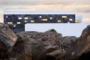 Basalt Architects uses volcanic rocks to construct its newest hotel in Iceland