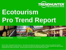 Ecotourism experiences are at the cutting edge of creativity in the tourism industry