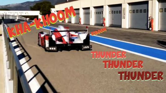 Toyota's First Hybrid Le Mans Prototype Was The Coolest Sounding Race Car Of The Modern Era
