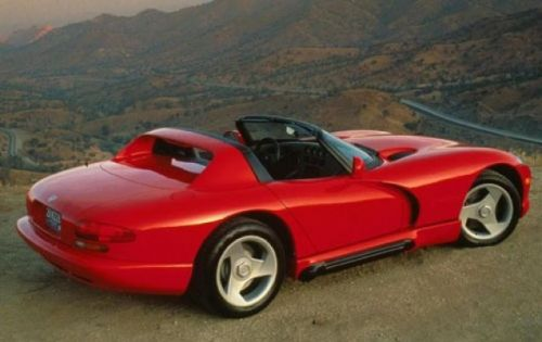Dodge Viper Could Be Coming Back Again, This Time Without Its Signature V10