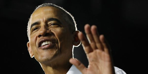 Obama tells anxious Democratic donors to 'chill out about the candidates' and avoid putting them through 'purity tests' at fundraiser