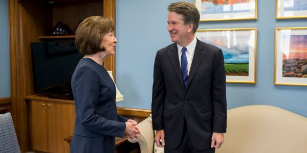 Senate votes to advance embattled Supreme Court nominee Brett Kavanaugh to a final vote