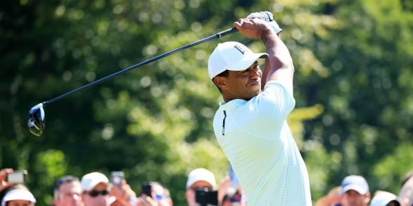 Tiger Woods shot his lowest round since his return to golf - and he's in position to get his first win since 2013