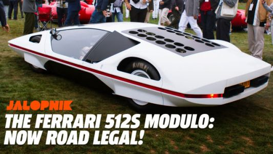 Thank God The Spaceship Ferrari 512S Modulo Won't Spend the Rest of Its Life Rotting in a Museum