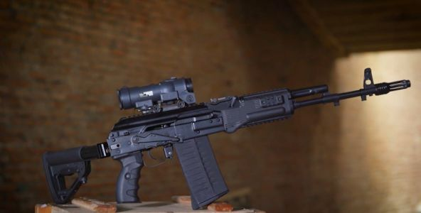 The Russian maker of the AK-47 just unveiled a new AK-308 rifle with a large 7.62mm NATO round