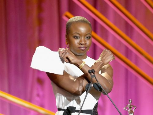 'Black Panther' star Danai Gurira's workout routine is so intense, you'll sweat just reading about it