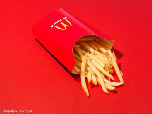 McDonald's is giving away free fries. Here's how to get some