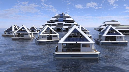 This proposed city of $420,000 floating pyramids is seeking 'citizens'