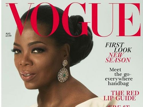Oprah is on the cover of British Vogue - and people think she looks like actual royalty