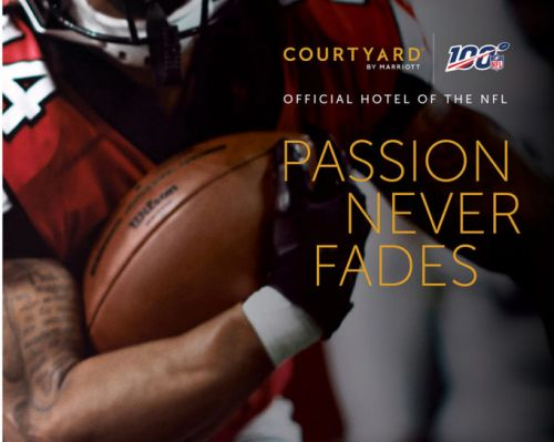 Courtyard by Marriott Celebrates Fans in NFL's 100th Season
