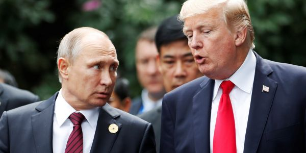 Trump says he was 'very strong' against Putin and would hold him personally responsible for election meddling