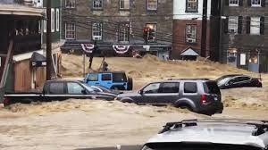 Flash flood hits Central Maryland, man goes missing