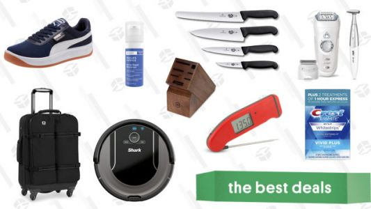Thursday's Best Deals: Shark Vacuums, Grooming Essentials, PUMA, and More
