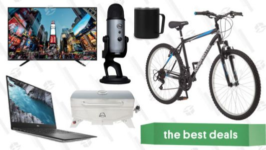 Wednesday's Best Deals: XPS Laptops, Wrapping Paper Organizer, NFL Apparel Bundle, and More