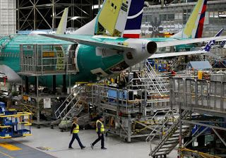 China Aircraft Leasing says no change to Boeing 737 MAX order