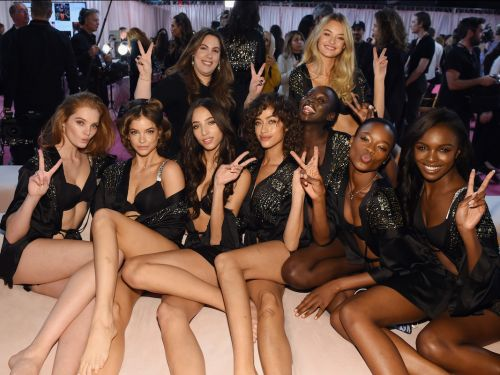 All of the photos from behind the scenes at the Victoria's Secret Fashion Show