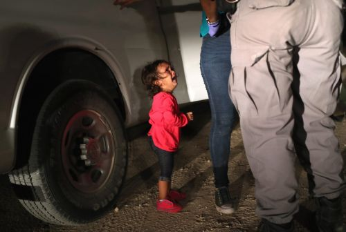 Sobbing migrant girl on TIME cover actually wasn't separated from her family, her father says