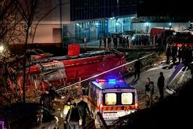 13 people killed and 30 injured in bus accident in North Macedonia