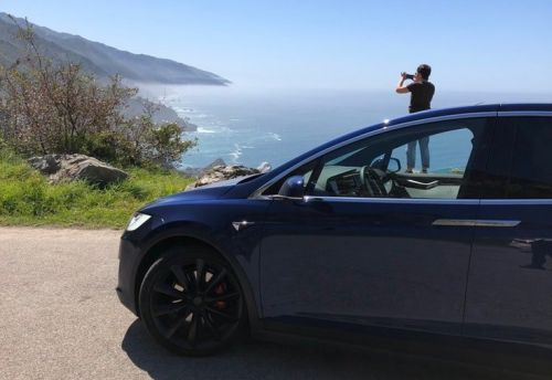 I took a Tesla on a 400-mile drive on California's Highway 1 - and while it was hard, I'm convinced it's the future of road trips