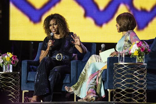 Michelle Obama refused to comment on Biden's apology following segregationist comments