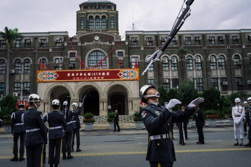 A Pentagon official is urging Taiwan to spend more on a modern military in light of China's 'increasing frequency and scale of activity'