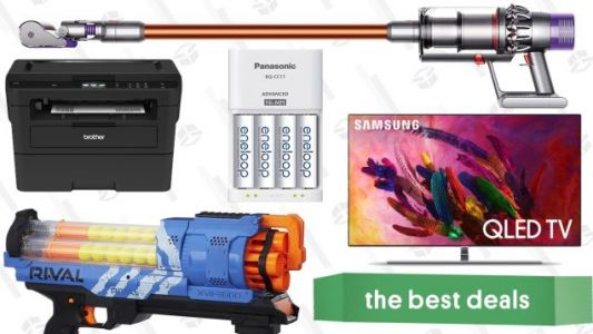 Monday's Best Deals: Samsung's Best TVs, YETI Hopper, Nerf Guns, and More