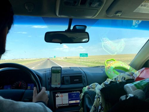 My husband and I drove through 18 states in 4 days with our two-year-old to relocate from California to Maine - we only came into contact with 10 people and spent $852