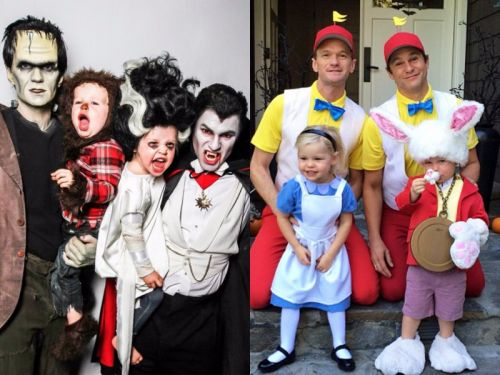 Neil Patrick Harris and his family always nail Halloween - here are their incredible costumes